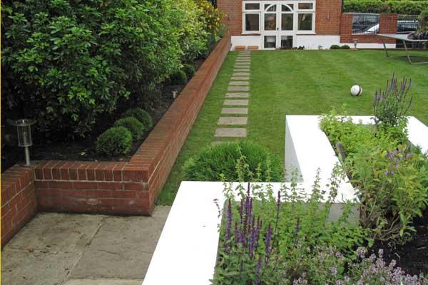 Pin by elk design on lawn pinterest for Family garden designs