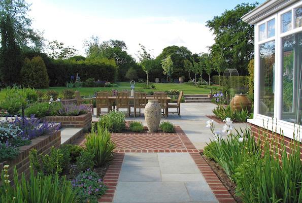 Garden design in surrey hampshire and sussex cherry for Garden house design west sussex