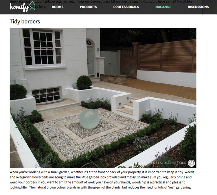Landscape Design Surrey: Press Article For Cherry Mills